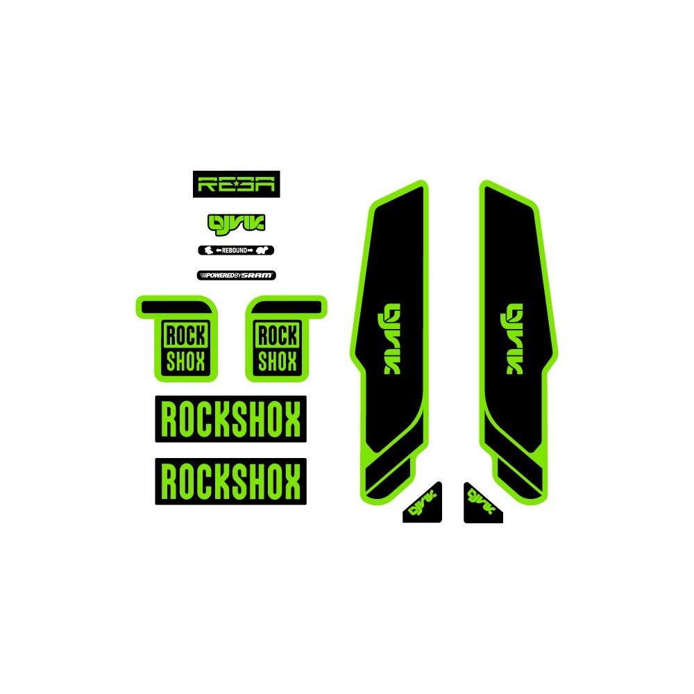 Rock Shox Lyrik Reba fork...