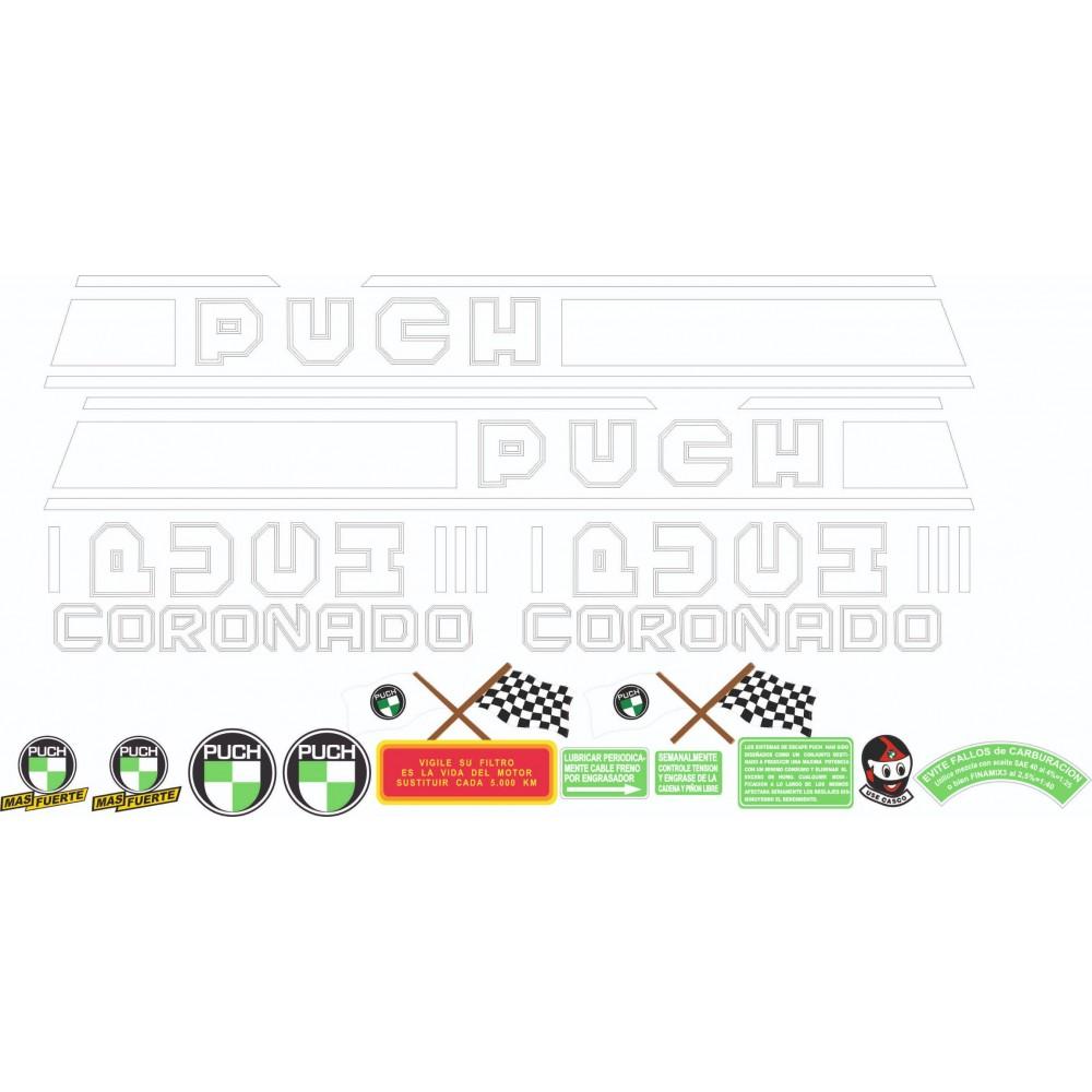 PUCH Coronado Sticker Kit