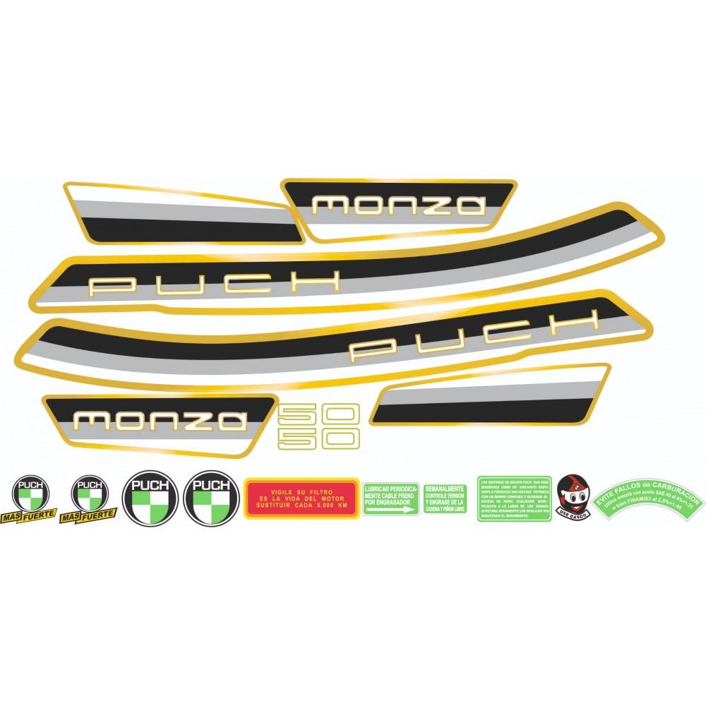 PUCH Monza Sticker Kit