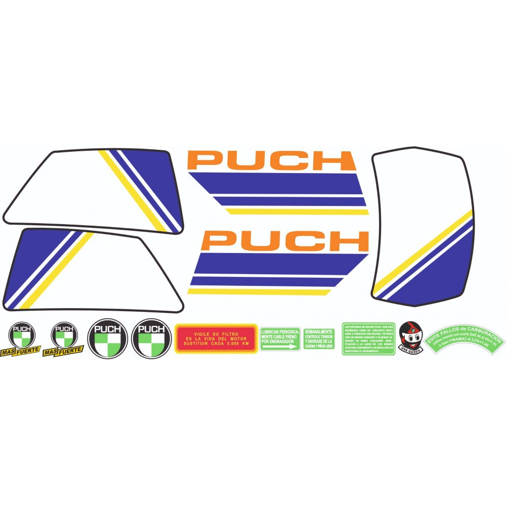 PUCH Condor MD 85 YELLOW...
