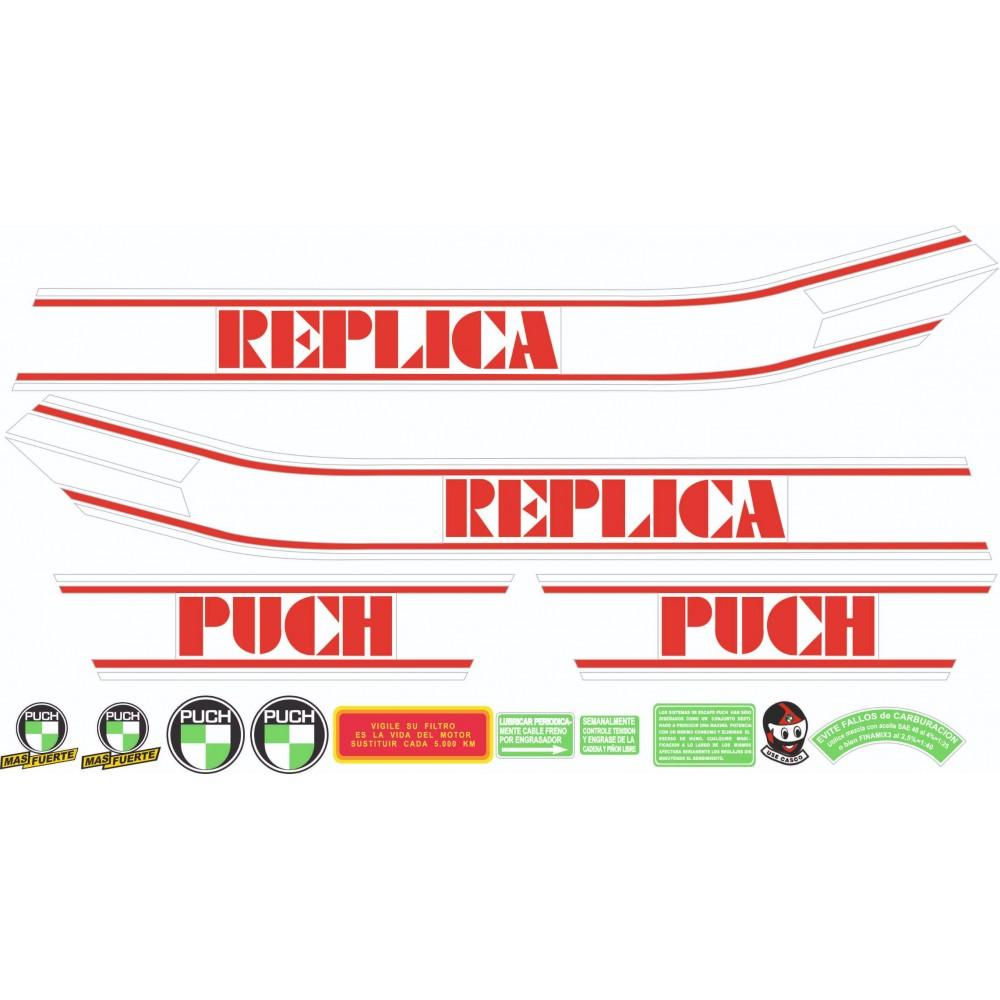 PUCH Cobra Replica Stickers...