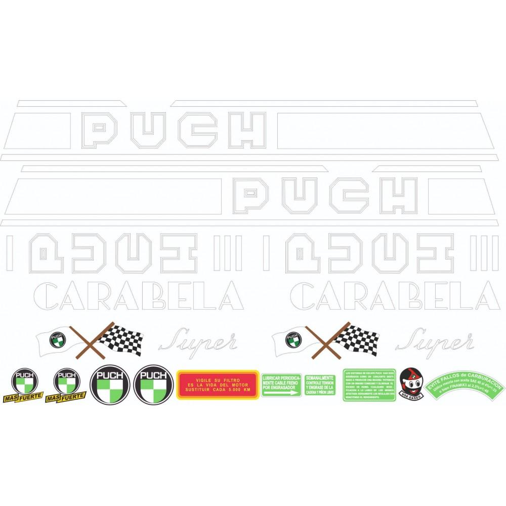 PUCH Dakota Stickers Kit...