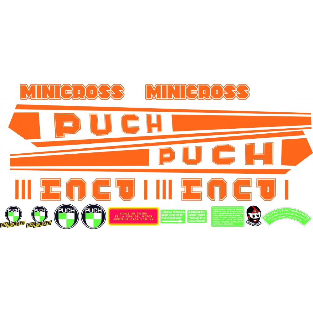 PUCH Minicross III Orange...