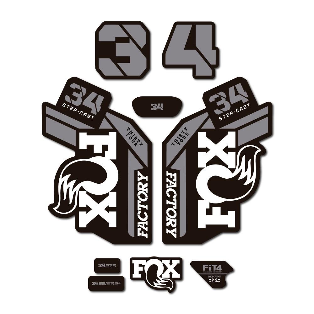 Fox 34 Factory Step Cast...